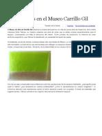 Museo Carrillo Gil-Sofia Taboas. Fuente