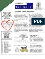Farmington Lutheran Church February 2011 Newsletter