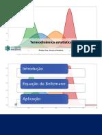 Termodinâmica estatística v2