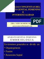 (4)  ANOMALIAS CONGENITAS DEL APARATO GENITAL FEMENINO