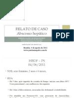 Caso Clinico Abscesso Hepatico