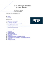 Curso de Semiologia Psiquiatrica - Hugo Marietán