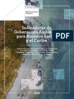 Indicadores de Gobernanza Ambiental Para America Latina y El Caribe