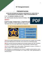 14º El Tetragrammaton - V.·.H.·. Hernán Cadenillas Luna, 14º