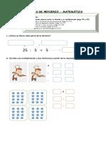 4°-básico-Matemática-Guía-de-Refuerzo-Divisiones