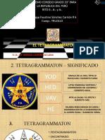 14º El Tetragrammaton. Imágenes - V.·.H.·. Hernán Cadenillas Luna, 14º