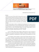 bases da Reforma Universitaria da ditadura militarno Brasil - 1968