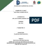 protocolo de investigacion.