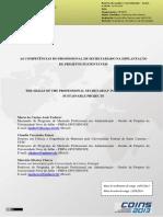 As Competências Do Profissional de Secretariado - Copia