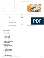 Pie de Legumes - Teleculinaria