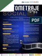 Convocatoria Cortometraje Social Conalep Estado de México 2021