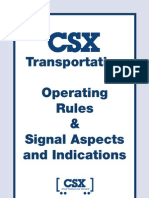 CSX-Operating Rules Signal Aspects and Indications