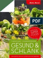 Betty Bossy - Gesund & Schlank, 3 Menüpläne, 6 Kurzprogramme