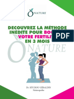Découvrez la méthode inédite pour booster sa fertilité en 3 mois