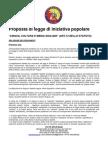"""Proposta di Legge di iniziativa popolare """"Lingua, cultura e media siciliani"""""""