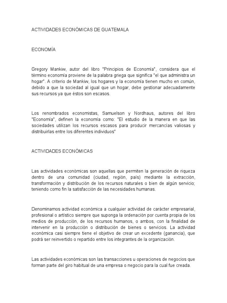 Actividades econ micas de guatemala for Que significa contemporaneo wikipedia