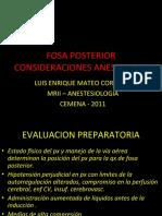 FOSA POSTERIOR EXPO