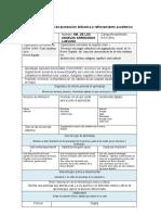 Formato Flexible de Planeación Didáctica y Reforzamiento Académico