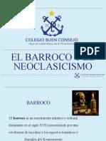 Barroco y neoclasicismo. 11°
