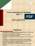 Curso Ingeniería de Software parte I