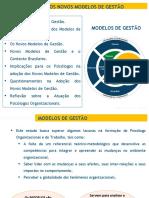 PSICOLOGIA_GESTÃO E RESPONSABILIDADE SOCIAL - Os Novos Modelos de Gestão1