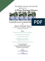 Rotary Wine Dinner Warrenton
