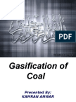 Gasification of Coal