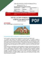 SEMANA 5 - ESTUDIOS SOCIALES