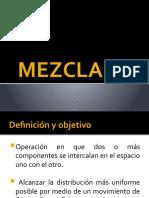 MEZCLADO