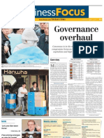The Korea Times_Business Focus_Cover Story_Governance Overhaul