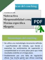 coaching caract. ventajas y desventajas.