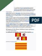 El imperio español Datos