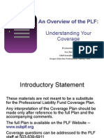 PLF Coverage