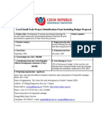 Proposal of CRD 2009 for Czech Embassy Sept-09