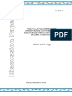 IBS Discussion Paper 2008-01 - Lingga