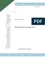 IBS Occasional Paper 2007-04 - Lingga