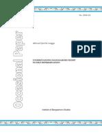 IBS Occasional Paper 2008-03 - Lingga