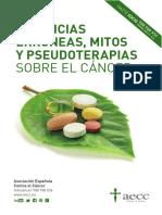 Cancer - Creencias erroneas