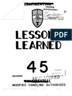 Lessons Learned 45 Viet Cong Tunnels, 12 FEB 65 (OCR)