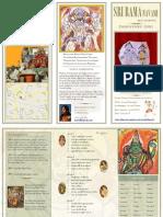Program Handout   2011 Sri Rama Navami Bhajan Recital   dhanyasy.org