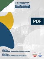 Daniele Stecco candidato sindaco - programma elettorale, Chioggia 2021-2030