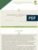 Monografia unei comune - comuna Babană