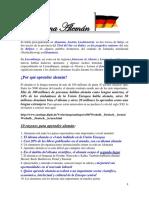 ALEMÁN ALFABETO REGLAS DE PRONUNCIACIÓN GRAMÁTICA