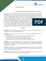 DEMANDA RENDICION DE CUENTAS FORMATO