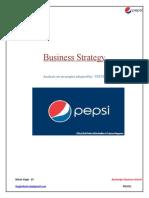 Business Strategy & Analysis - Pepsi