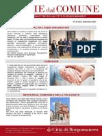 Notizie Dal Comune di Borgomanero del 3-09-2021