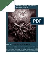 CURSO DE ANGELOLOGIA -TEMA 3-LA  DEMONOLOGIA  ESTA  DENTRO  DEL  ESTUDIO de la angelología -tema 3