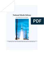 National Missile Defense