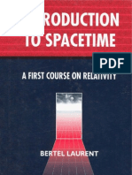 Introduction to Spacetime - A First Course on Relativity