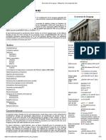 Economía del Uruguay - Wikipedia, la enciclopedia libre